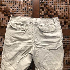 Broken-In Shorts - Broken-In Khaki Shorts 38